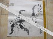 名家画 常永明作品 【 虾】长49厘米 宽45厘米