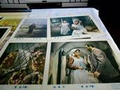 老电影海报 前苏联约50--60年代老经典电影.复活[下集]7张全孔网孤本