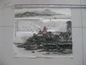 《莎士比亞詩意》    江蘇山水畫家魏明作品一幅