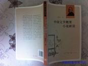 中国文学概要小说新语
