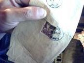 1956年实寄封   带1分邮票