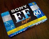 磁带  SONY 高性能空白磁带 (从未开封)