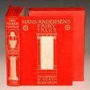 HANS ANDERSEN - Fairy Tales 《安徒生童话》满金彩绘函装超大豪华本 名家希思•罗宾逊彩色全插图版