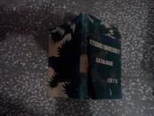 英文原版  KYUSHU UNIVERSITY CATALOGUE1973(九州大学目录)馆藏多图封面左下角有损伤如图