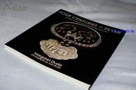 英文版《外国收藏家收藏的明清老银饰》--老银饰首饰银器四百年之精华 Four Centuries of Silver