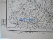 民国(国军)地图(187)~~湖北省松滋县公安县湖南省澧县【石子滩】地形图
