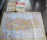 世界分国地图:土耳其(函装.一张)