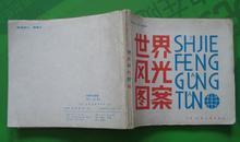 世界风光图案 马世龙宋子龙绘画1983年天津人民美术出版社出版40开本157页完整无污无渍85品相