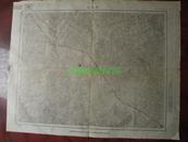 民国地图46【1948年】湖北省长岗店地形图~~有标记