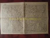 民国地图66【1948年】湖北省江随县厉山地形图