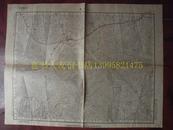 民国地图72【1931年】湖北省利川县地形图