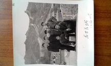 老照片 1965与北京八达岭长城留念