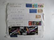 澳大利亚信封邮票4套合售