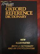 【英文原版牛津参考大词典】THE OXF OR D REFERENCE DICTIONARY
