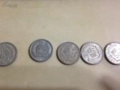 两分钱硬币(1976,1977,1982,1985,1988,1990)