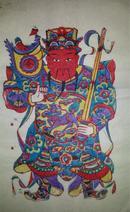 杨家埠木版年画版画大全之014*武座