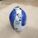 陈家泠1997年 绘 花卉图 手绘花瓶