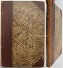 《清代画家杂记》1905年德国汉学家夏德名著皮装本四王吴历恽寿平冷枚等名家画作