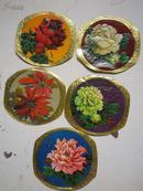 《79 年历片 花卉 》5张