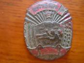 朝鲜文字,五星-战斗图案纪念章