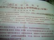 中共中央关于农村无产阶级文化大革命的指示(草案)供讨论和试行用
