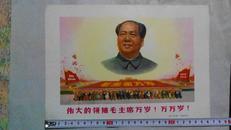 伟大的领袖毛主席万岁!万万岁!*简图*画片*文革题材宣传画