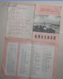 1971年杭州交通图