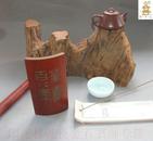 ◆◆印迷林乾良题--◆茶寿百八年  冯嘉生刻 【小不在意】老料新工