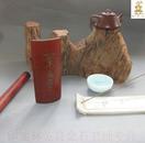 ◆◆印迷林乾良题--◆茶寿  冯嘉生刻 【小不在意】老料新工