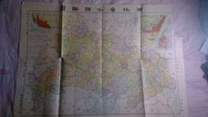 民国分省地图《湖北省分县地图》
