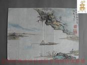 近现代西泠印社社员书画     编476e【小不在意---24】张锐----张旭之子、师从:吴昌硕,黄宾虹,王福庵---张锐---湖州近代著名画家,上海文史馆馆员    影视明星徐峥的外公
