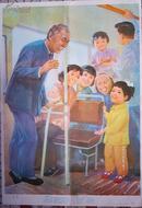 幼儿园看图讲述教育挂图:让座、不能摘、窗外的垃圾(贴绒教具)中班 第一辑.11-(5、6、7)3张.77X52CM