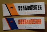 江西省科技成果交流展览  两张