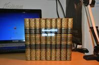 《成功的現代戲劇集》9冊合售,全10缺1,缺第8冊,1811年英文精裝版,小開本,全真皮封面。 現貨包郵