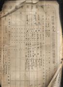 河南省鹿邑县土地房产所有证第三联1952年【村存91张】