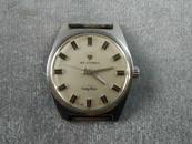 *上海秒表厂钻石牌全钢防震机械老手表,功能正常,走时,无表链