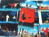 革命现代舞剧《红色娘子军》明信片 16张全 德文版 71年一版一印