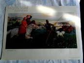 中国画 年画 老年画《我为祖国放骏马》油画