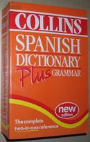 ◆英文原版书 Collins Spanish Dictionary Plus Grammar 西班牙语