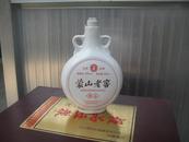 老酒瓶 蒙山老窖精品白瓷老酒坛 39%vol 500ml  造型奇特 看图