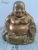铜弥勒佛像