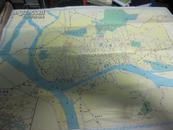 1965年广东省近郊交通图 4kdd5