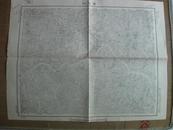 民国地图: 蜀河口地形图 [湖北省郧阳县 陕西省洵阳县白河县安康县]