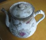 茶壶带盖甩卖-拆迁祖屋找到的,可能是清代的-实物拍照