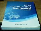 2013中国小额信贷机构竞争力发展报告
