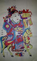 杨家埠木版年画版画大全之022*状元及第