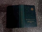 英文原版  THE HARVEY LECTURES1955--1956(哈魏演讲集第51卷)四角有磨损
