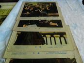 老电影海报 前苏联约50--60年代老经典电影【外套 全8张,规格高26,宽31】孔网孤本