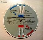 对数换算园尺  老物件 【德国SEL 标准电器制作】