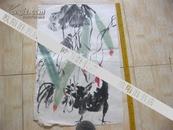 名家画 常永明练习作品 【 鸡】长68厘米 宽46厘米